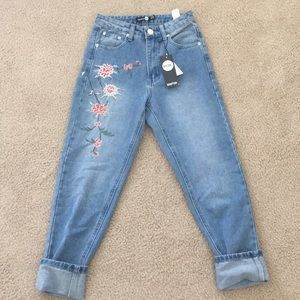 Petite mom jeans (NOT USED)
